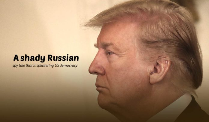 A story of Russian Spies damaging American democracy