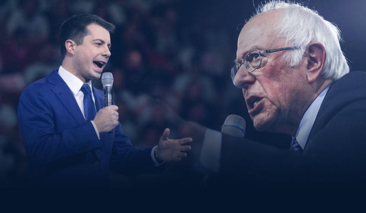 Sanders and Buttigieg go head to head in Clash