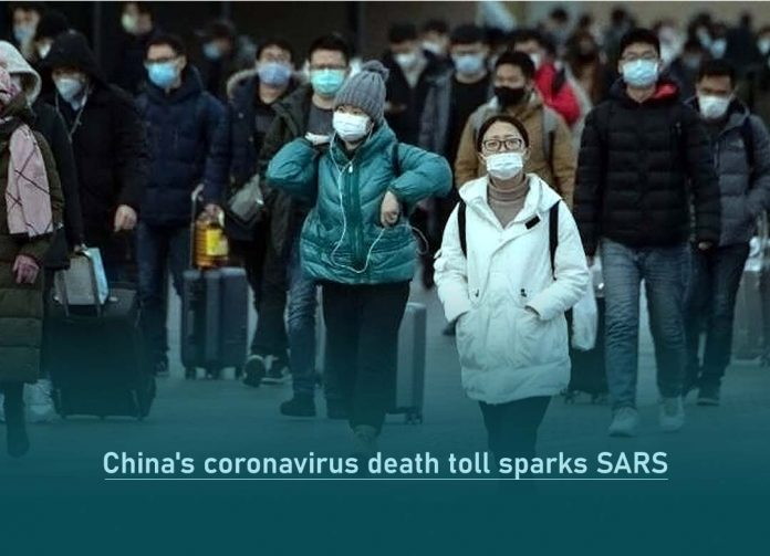 China's Coronavirus Death Toll beat SARS Death Toll