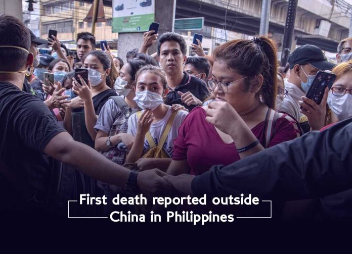 First death case reported outside China in Philippines