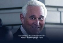 In Roger Stone's defense, Trump investigated the truth of false claims