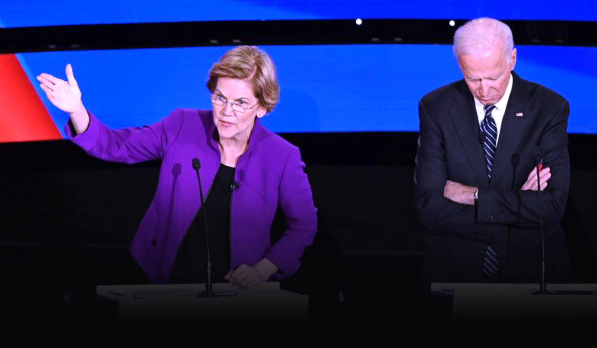 Major Candidates of Democrat turned on eachother