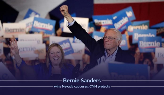 Bernie Sanders will win Caususes of Nevada – CNN Forecasted