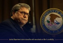 The storm of Justice department strengthens with recent attacks on Barr's credibility