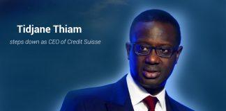 Tidjane Thiam steps down as CEO of Credit Suisse