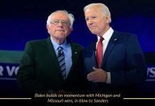 Biden conquer Missouri and Michigan Contests
