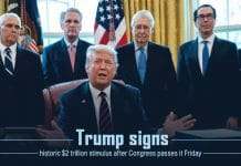 Trump Signed the House Passed $2T historic stimulus Package