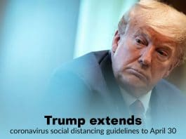 Trump extends Coronavirus social distancing advisory for one more month