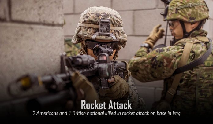 Two U.S. and one U.K national killed in Rocket Attack at Taji Base