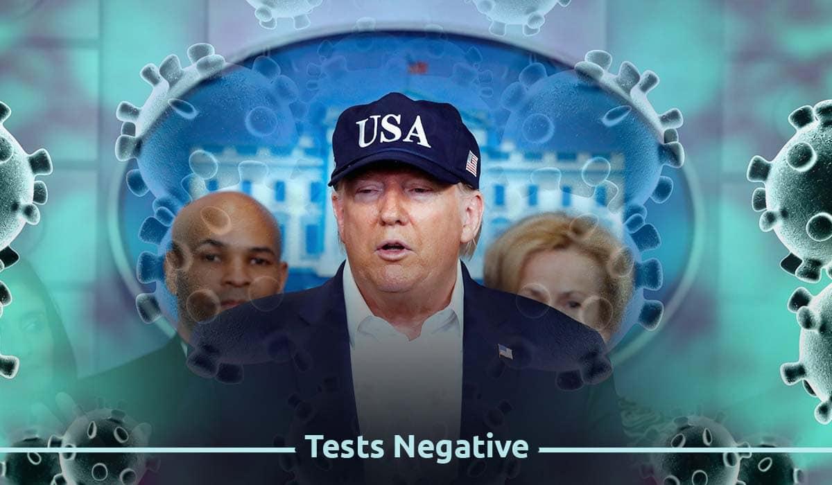 U.S. President tested negative for Coronavirus – White House
