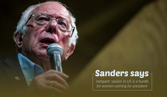 Sexism in U.S., a hindrance for female presidential candidates – Sanders