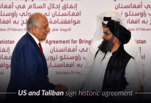 US signed a historic agreement with Taliban