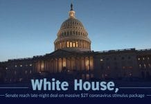 White House, Senate settled on a $2T stimulus package to fight coronavirus