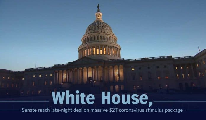 White House, Senate passes a $2T relief package to combat coronavirus