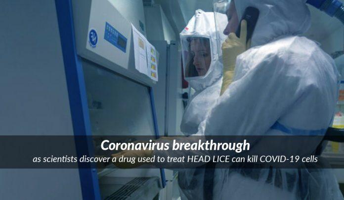 Anti lice drug Ivermectin can kill novel Coronavirus cells within 48 hours