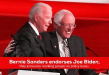 Bernie Sanders endorses Joe Biden for Democratic Presidential nomination