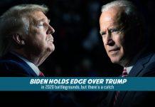Joe Biden took lead over Trump in 2020 Elections