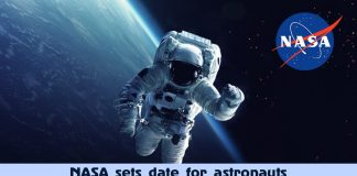 NASA to launch astronauts into space from the U.S. Soil next month