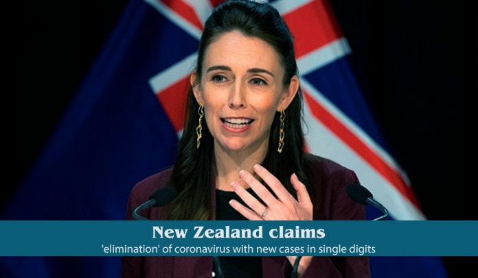 New Zealand claimed new COVID-19 cases in single digits