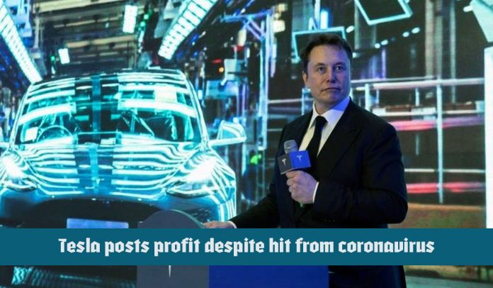 Tesla posted a 1st quarter profit regardless of COVID-19 pandemic hit