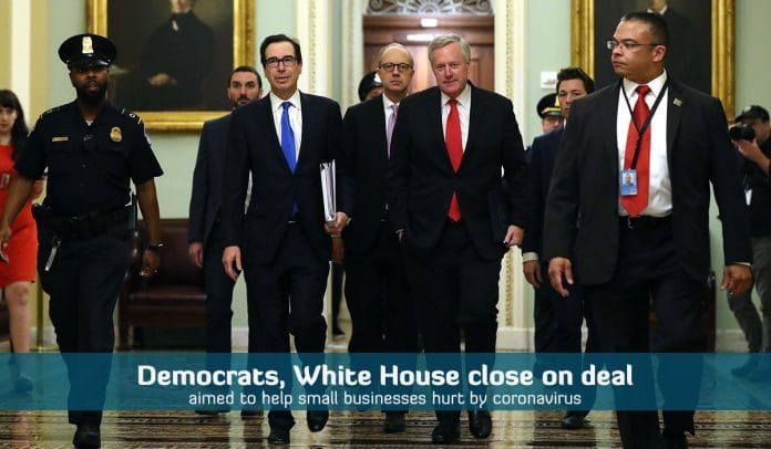 White House, Democrats near to reach a deal to back small businesses