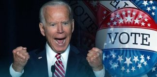 The lead of Joe Biden is strong on record against Donald Trump