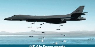 US Air Force sends B-1 bombers back to Pacific on temporary deployment