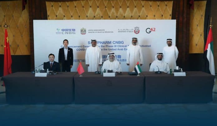 UAE and China launch Phase 3 clinical trial in humans for Covid-19 vaccine content
