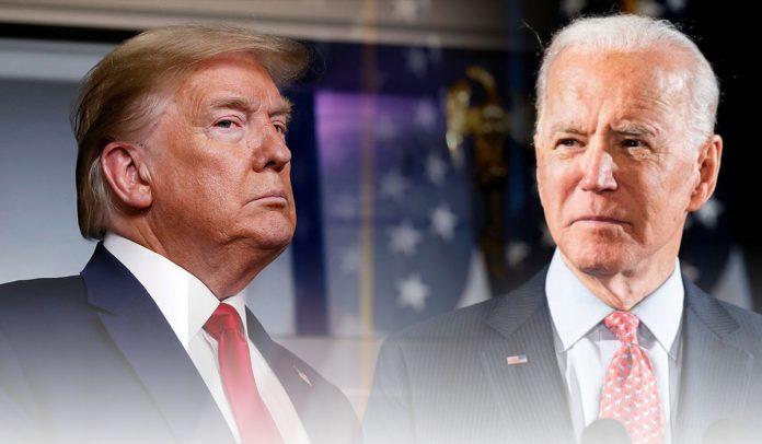 Donald Trump lashes out at Joe Biden in Rose Garden