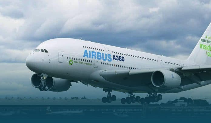 Assembling of last ever Airbus A380 Superjumbo in France