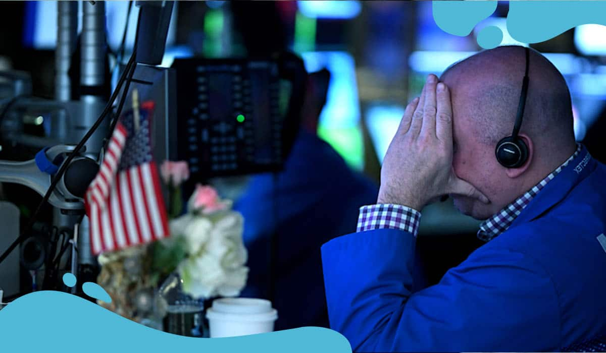 Dow Flips over 500 points as COVID-19 fears rise