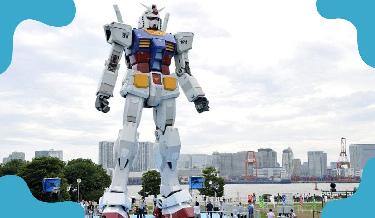 Japanese giant Gundam robot undergone testing