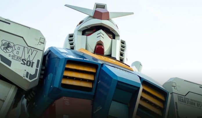 Japanese giant Gundam Robot Undergone Testing Phase