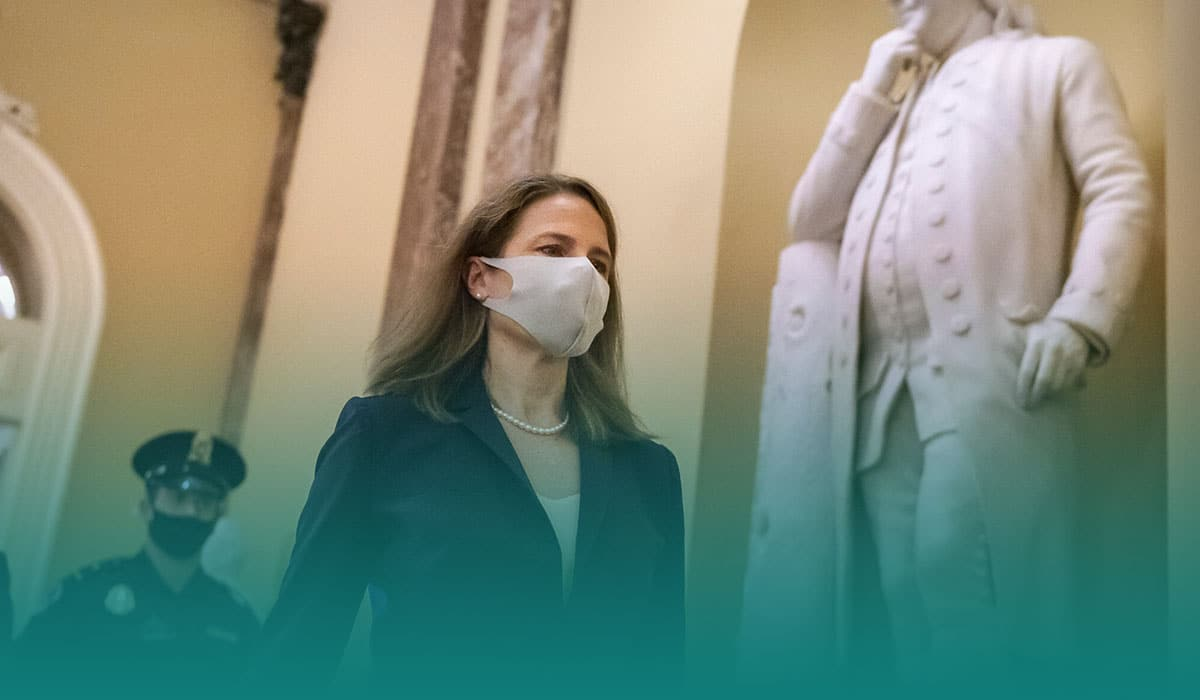 Amy Coney Barrett joins the Supreme Court some days before polls