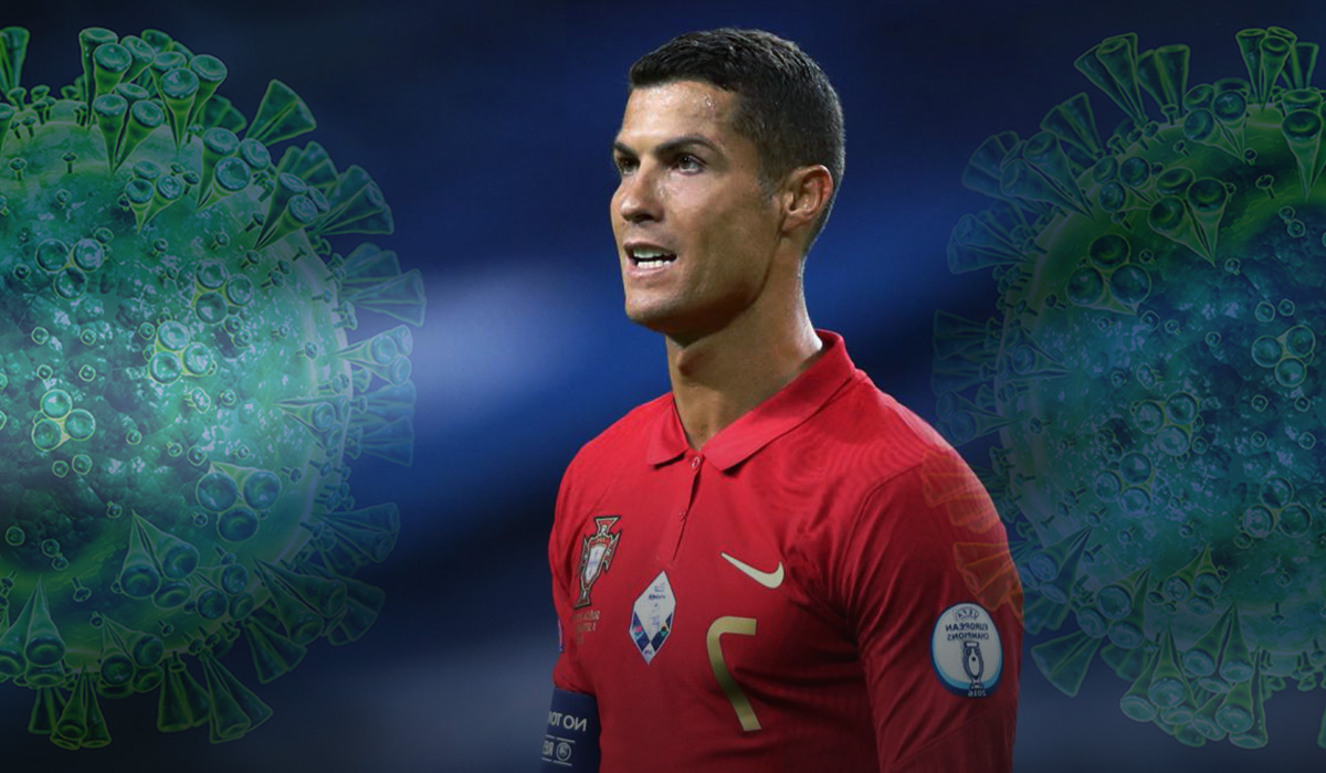 Cristiano Ronaldo tests positive for COVID-19