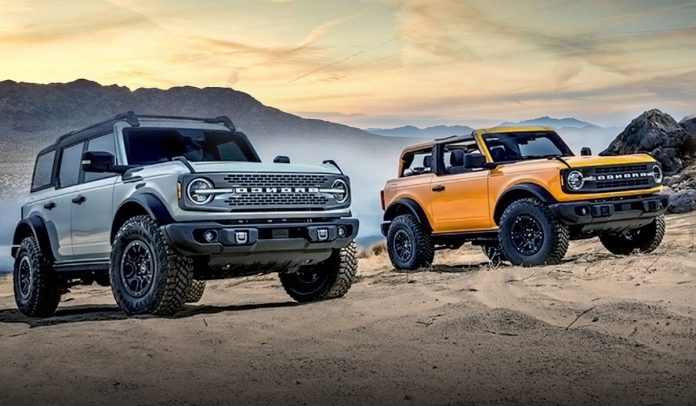 The 2021 Ford Bronco is delayed due to Coronavirus Supply disruptions