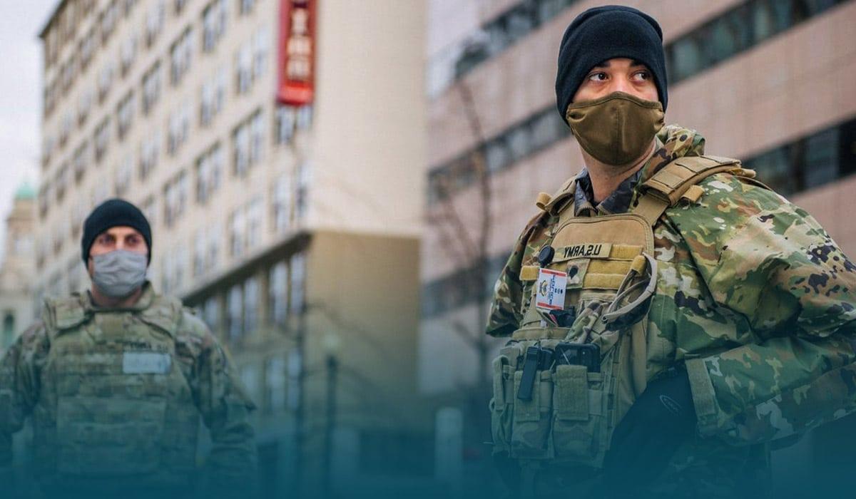 Washington locks-down as Biden's Inauguration Events Amid Possible Violence Warnings