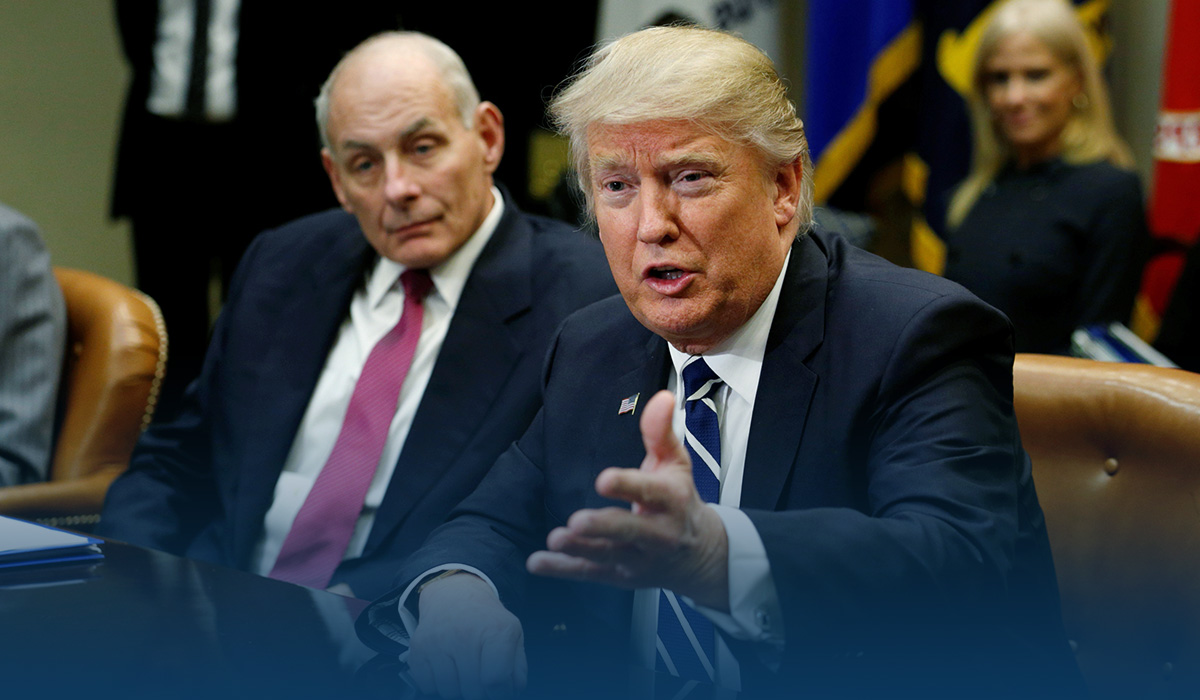 John Kelly Supports using 25th Amendment to Remove the President Trump