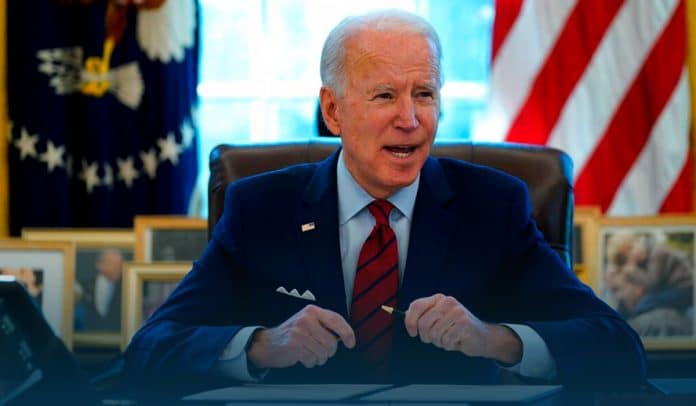 Biden lambasted Georgia's crackdown on voting access as 'Jim Crow in the 21st century'