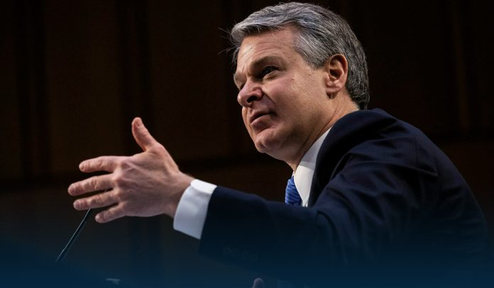 FBI Director says No evidence of 'fake Trump protesters' at Capitol Hill riot