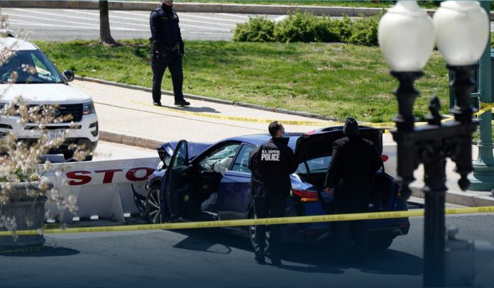 Police Officer died after Car rams into the Security Barrier
