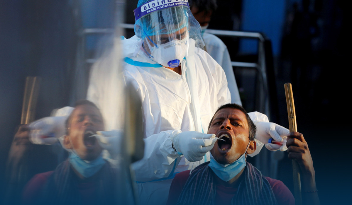Hospitals running out of oxygen in India as COVID-19 case surge