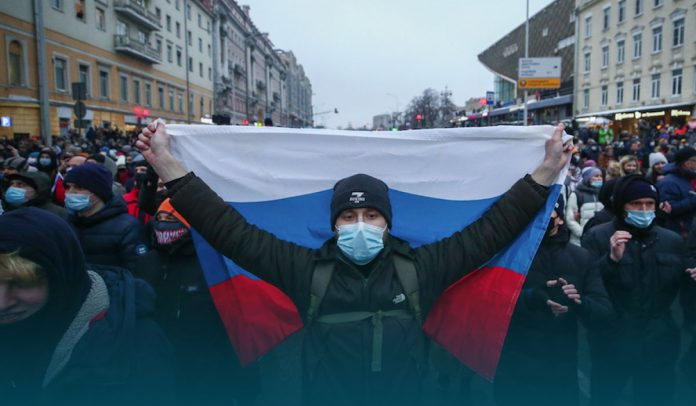 OVD-Info says More than 1000 Russians Detained at Pro-Navalny Protests