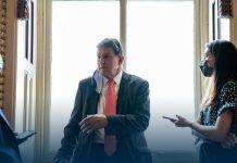 Joe Biden's Meeting With Democratic Sen. Manchin Over $2T Infrastructure Proposal