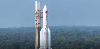 Chinese state Media says rocket debris crashes into Indian Ocean
