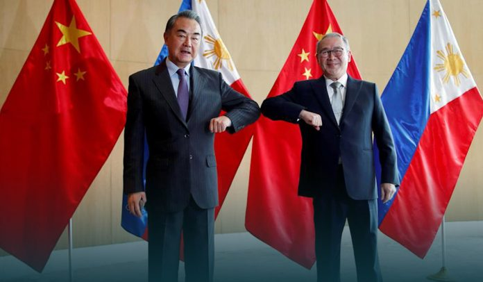 Chinese Foreign Ministry urged the Philippine for 'basic manners'