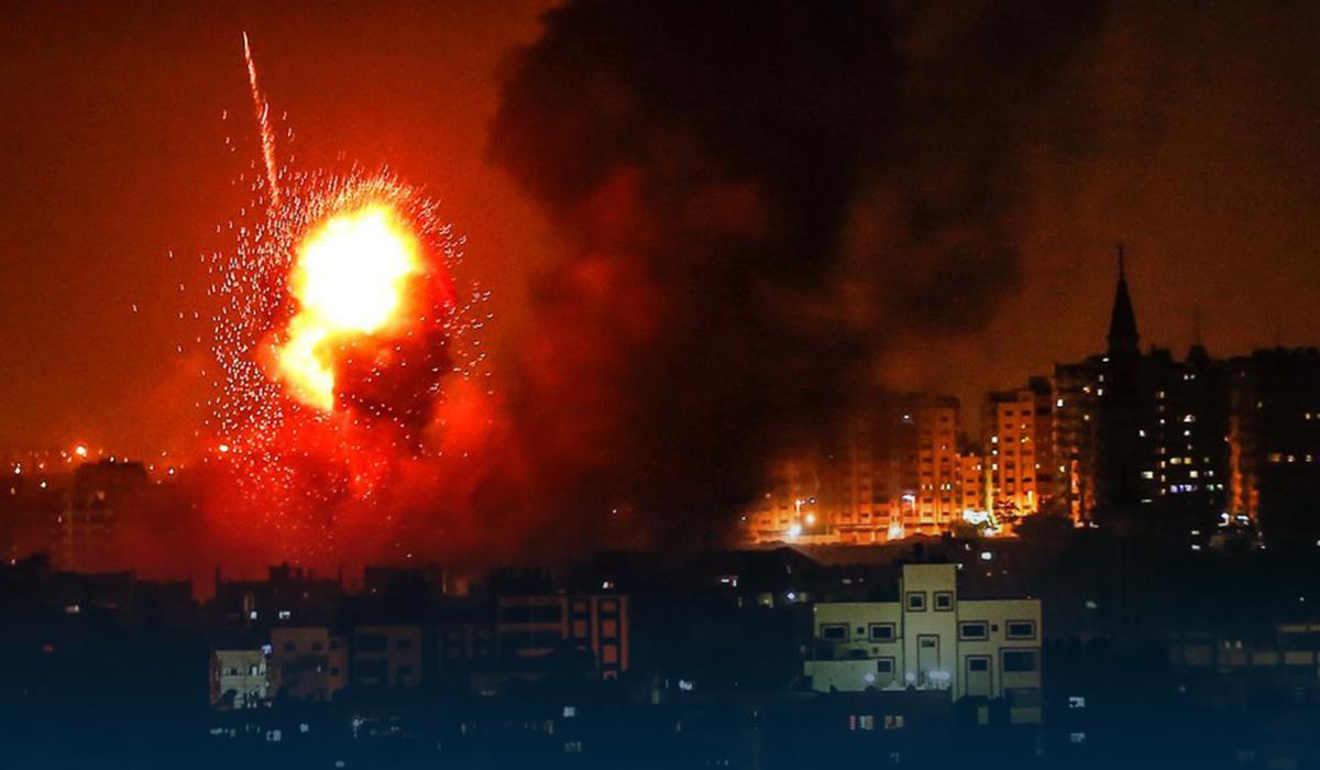 Israeli deadly air raids hit Gaza strip after rockets attacks