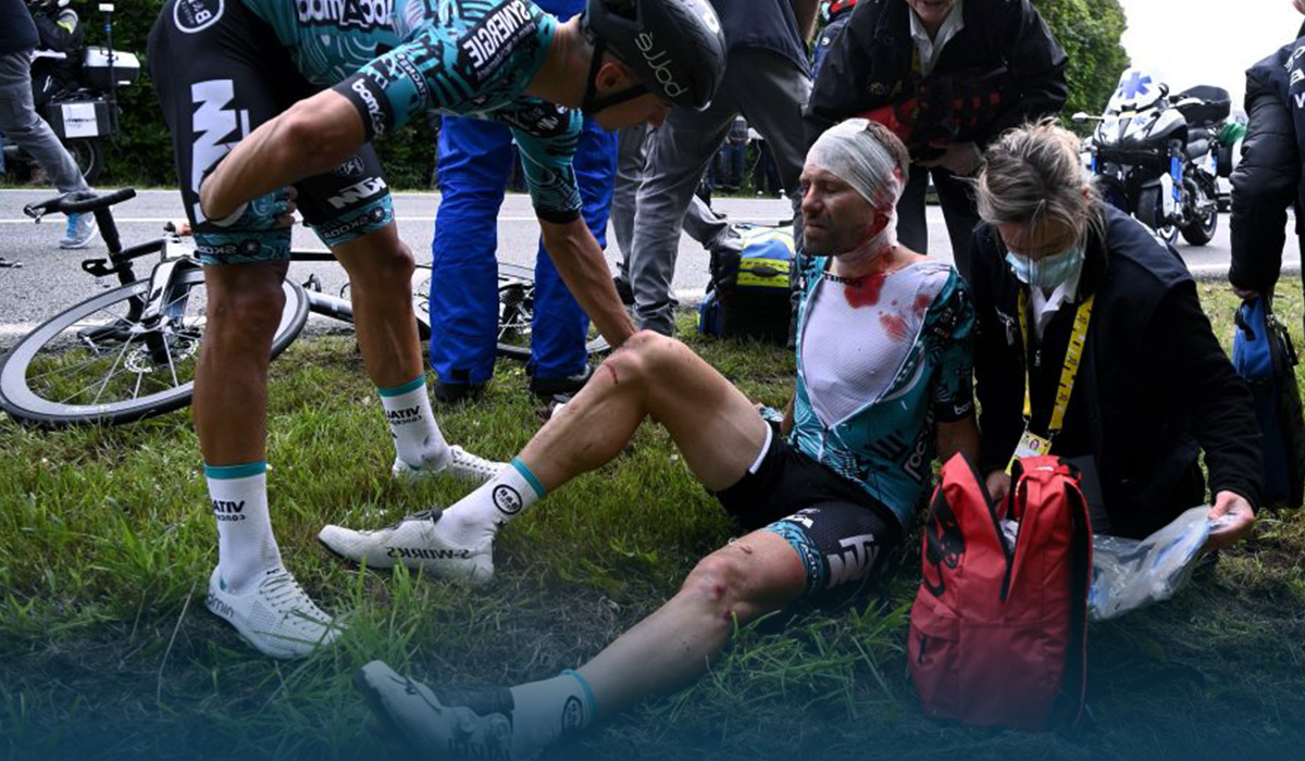 French Police Launched Investigation into Tour de France Crash