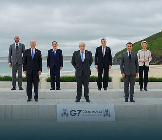 2021 G7 Summit Starts off with 'Build Back Better' Note