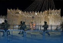 Palestinians and Jewish Settlers Clash In East Jerusalem's Sheikh Jarrah Neighborhood